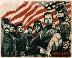 Captain America - Bucky Barnes {The Howling Commandos} Marvel Fan Art, Marvel Heroes, Marvel Dc, Captain Marvel, Bucky Barnes, Sebastian Stan, Captain America And Bucky, Winter Soldier, Marvel Movies