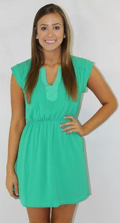 Kiki La'Rue - Problem Solved Dress- Emerald , $48.00 (http://www.kikilarue.com/problem-solved-dress-emerald/)