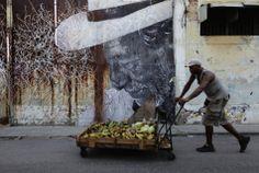 Stunning Street Art From The Havana Biennial: 'Wrinkles Of The City'
