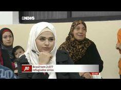 Menino sírio conta a história da família refugiada no Brasil - YouTube