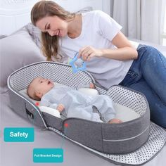 Baby Travel Bed, Travel Cot, Portable Baby Cribs, Baby Tent, Baby Nest Bed, Baby Crib Bedding, Baby Pillows, Traveling With Baby, Baby Furniture