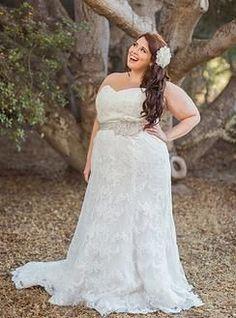 b3d96f8de 20 mejores imágenes de Vestidos de novia para gorditas