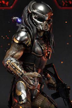 Alien Vs Predator, Predator Comics, Predator Cosplay, Predator Alien, Mythical Creatures Art, Fantasy Creatures, Skin Images, Fantasy Concept Art, Alien Art