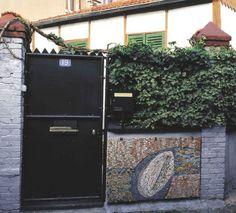 Mosaïque  Adresse : Passage Lebreton, Bagnolet, France  Datation XXe siècle