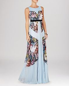 BCBG Butterfly Print Gown - wow!
