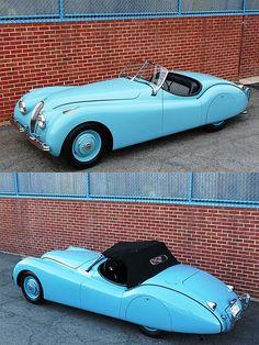 1950 #Jaguar #XK120 #ClassicCar QuirkyRides.com