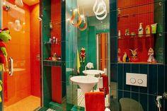 salle de bain colorée6