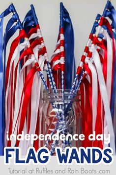 4th July Crafts, Fourth Of July Crafts For Kids, Fourth Of July Decor, 4th Of July Decorations, Patriotic Crafts, 4th Of July Wreath, Patriotic Party, 4th Of July Ideas, Fouth Of July Crafts