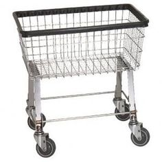 Laundry Cart to go under the laundry chute which is tucked ever-so-conveniently behind the furnace. $85