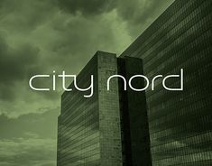 City Nord RebrandingDeveloped in the end of the in the north of Hamburg, Germany, City Nord became one of the largest development projects in Europe. As icons of modern architecture, City Nord's ensemble of buildings are under monumental protection. New Work, Modern Architecture, Germany, Behance, Europe, City, Gallery, Building, Check