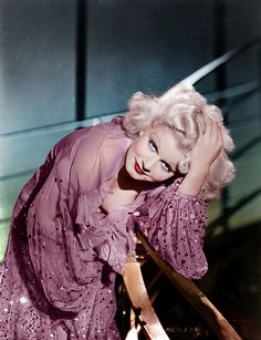 Jean Harlow. Colorized. Stunning.