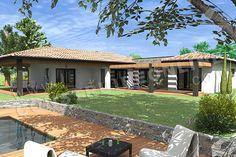 <div><b>Maison moderne de plain-pied de type 5</b></div><div>4 chambres - terrasse -garage</div><div>Surface Habitable: 159m² / Surface annexe: 126m²</div><div><br/></div>