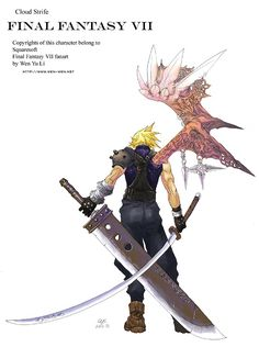 Cloud+Strife+fan+art+by+Wen-M.deviantart.com+on+@deviantART