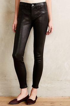 Level 99 Leather Leggings #anthropologie