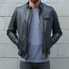 Schott 141 Classic Racer Jacket - Jackets - Riding Gear | Town Moto