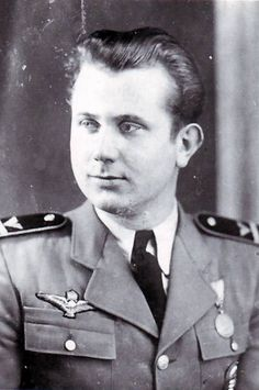 Lt. Tibor Tobak, WWII Hungarian ace with 5 victories. His memoirs are a valuable resource for those interested in the history of the Puma Squadron.