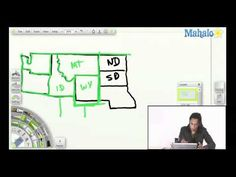 Draw the United States – northwest corner video. This is great! – TSH