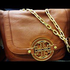 Tory Burch handbag. Not really my style but it looks so pretty