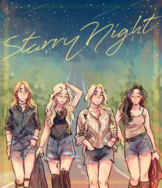 mamamoo fanart starry night