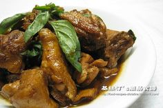 Three Cup Chicken Recipe (Taiwanese Style) - Christine's Recipes: Easy Chinese Recipes | Easy Recipes