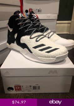 timeless design 961b2 24675 Adidas D rose 7 BHM Arthur Ashe QS ultra boost Boost BY3475 Sz 7.5-18 MSRP  180