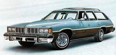 1976 Pontiac LeMans Grand Safari Station Wagon