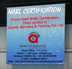 Get NABL certifications India, contact to Quality Services & Training Pvt. Ltd. For more information, kindly contact us: Phone: 91-9215300338 Email id: info@qsindia.in  Website: http://www.qsindia.in/nabl-certificationindia   S.c.o. 37, sector-1, jail land, ambala city – 134 003 haryana Twitter: https://twitter.com/qualityservic11 Facebook: https://www.facebook.com/isocompanyindia?ref=hl