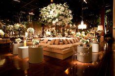 decoração com luminárias casamentos - Pesquisa Google
