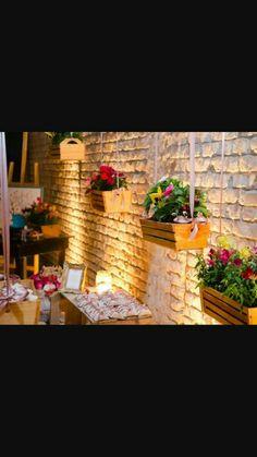 Flores - Caixote com flores