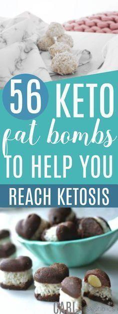 56 Keto Fat Bombs to Reach Ketosis