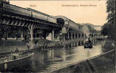 Berlin: U-Bahnhof Möckern-Brücke vor hundert Jahren