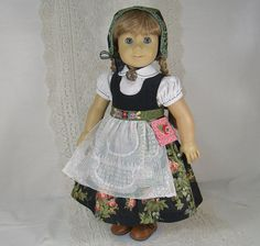 Reserved for Nancy ROMANTIC SWEDISH DIRNDL by idreamofjeannemarie, $125.00