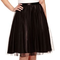 Blu Sage Tulle A-Line Skirt  found at @JCPenney