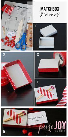 DIY matchbox