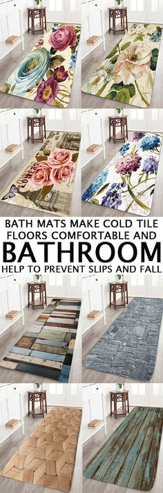 Bath rugs are essential - bath mats make cold tile floors comfortable and help to prevent slips and falls. Get everything from a nice accent rug to bath rug sets - shop Dresslily.com now. Free shipping worldwide!