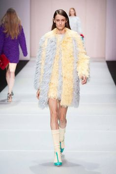 Fashion Week is getting crazier and crazier!!! Is it just me or is this a little on the furry side?