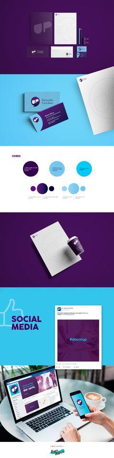 """Brand design for """"UP Soluções Contábeis"""", by Roger Ribeiro"""