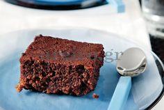 Σοκολατόπιτα µε σιρόπι Food Categories, Sweet Recipes, Tiramisu, Bakery, Sweets, Cooking, Ethnic Recipes, Desserts, Tarts