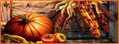 Welcome Autumn Facebook Cover