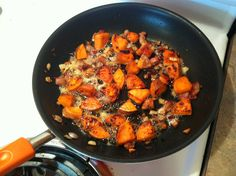 Sweet Potato and Bacon Breakfast Hash...easy, delicious, and Paleo!