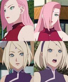 Ino e Sakura Naruto Kakashi, Anime Naruto, Sasuke Sakura, Naruto Girls, Naruto Funny, Naruto Shippuden Anime, Wallpapers Naruto, Naruto Wallpaper, Anime Cosplay