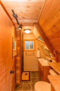 This is a 580 sq. Off-Grid A-Frame cabin for sale in Skykomish, WA and you're invited to come on in to take the full tour and learn more inside! A Frame House Plans, A Frame Cabin, Tiny House Cabin, Cabin Homes, Cabins For Sale, Cabin In The Woods, Barn Parties, Cabin Interiors, Cozy Cabin