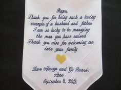 Bride To A Father of The Groom by elegantmonogramming, $26.00
