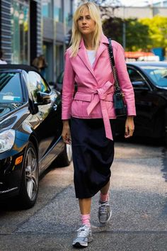 Need a New Color Combo? Here Are 9 Pink and Black Outfits