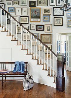 """Eine Gallerie wie in einem englischen Herrenhaus: """"350 Wohnideen"""" von Barbara King"""
