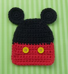 MR. MOUSE COASTER - FREE PATTERN- NOW IF ONLY I KNEW HOW TO MAKE IT, THEN TURN IT INTO A BEANIE......