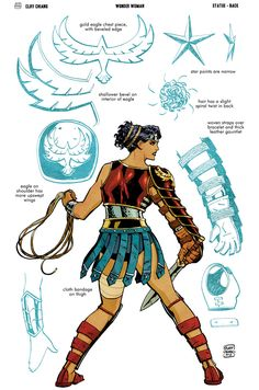 New Wonder Woman: Art of War Statues - designs by Cliff Chiang and Tony Daniel - Page 3