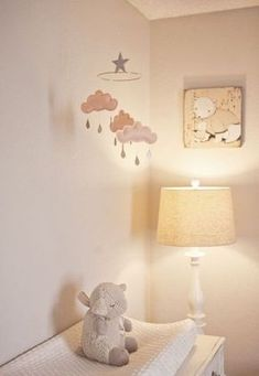 Une jolie décoration de nursery