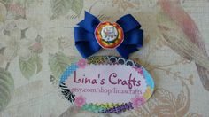 Check out this item in my Etsy shop https://www.etsy.com/listing/217977129/blue-hair-bow-autism-awareness-hair-bow