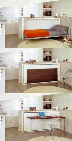 12 Ide Kreatif Meletakkan Tempat Tidur di Ruangan Kecil